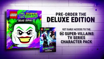 Official LEGO DC Super-Villains San Diego Comic Con Trailer