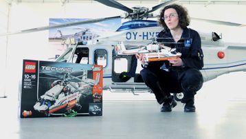 Конкурс LEGO Technic «Грузовой вертолёт: к взлёту готов!»