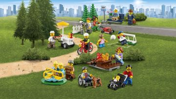 60134 Fun in the Park City People Pack