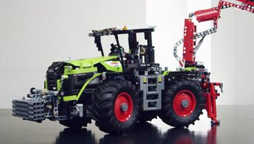 42054 CLAAS XERION 5000 TRAC VC トラクター
