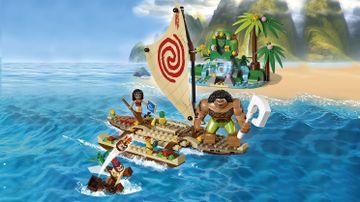 Le voyage en mer de Vaiana