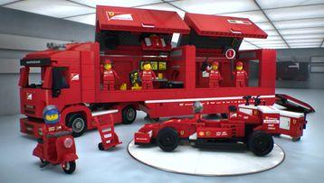 F14T e camion Scuderia Ferrari