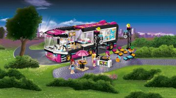 41106 Pop Star Tour Bus