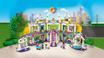 Le centre commercial de Heartlake City
