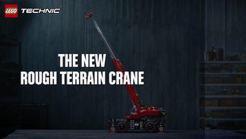 LEGO® Technic™ – 42082 Stor terrengkran