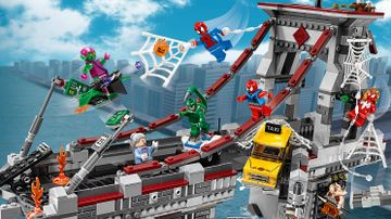 76057 SpiderMan Web Warriors Ultimate Bridge