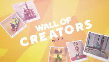April Showers bring Creative Powers Check out the best builds of May