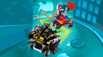 76092 Mighty Micros Batman vs Harley