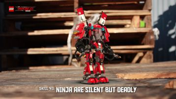 Ninja are silent but deadly