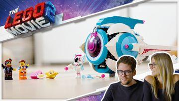 THE LEGO® MOVIE 2™ – L'Astronave Sorellare di Dolce Sconquasso! 70830 – Video designer giocattoli LEGO