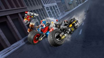 Batman™: Batcycle-Verfolgungsjagd in Gotham City