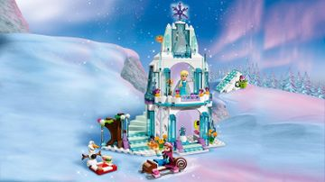 Elsas funkelnder Eispalast