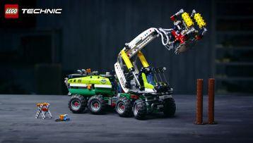 Utforsk den fantastiske skogsmaskinmodellen fra LEGO® Technic.