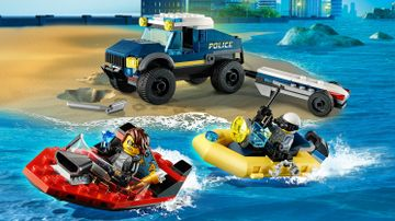 Elite Police Boat Transport
