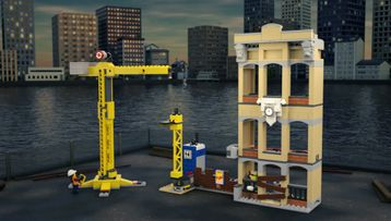 LEGO® City Downtown Fire Brigade Saves Burning Building!