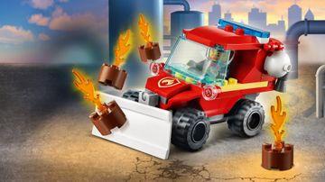 Mały wóz strażacki