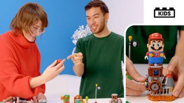 Use the LEGO Super Mario Maker Set to try something new!