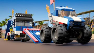 Perform the Greatest Auto Show Ever with LEGO® Creator 3in1 Mobile Stunt Show!