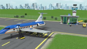 LEGO City 60104 Airport Passenger Terminal