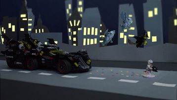 The Ultimate Batmobile Build Zone Challenge