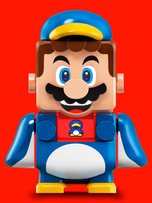 Power up with Penguin Mario!