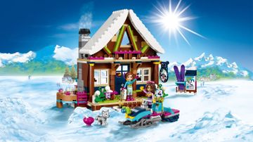 41323 Snow Resort Chalet