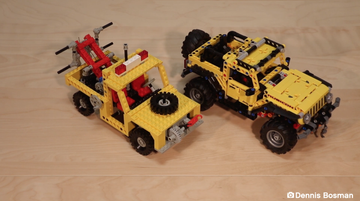Freestyle Technic™ Tow Truck build!
