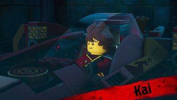 LEGO NINJAGO Character Video Meet Kai Luke Cunningham Dareth and Cole