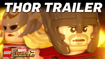 Officiell LEGO Marvel Super Heroes 2 Thor vinjett