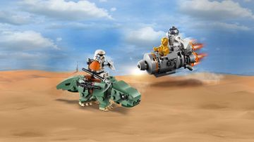 75228 Escape Pod vs Dewback Microfighter