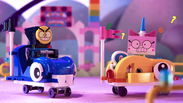 LEGO_Unikitty_Bumpin around