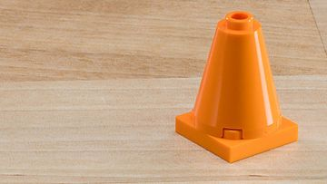 Building Tip Traffic Cones