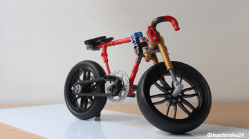 WATCH: Custom Technic™ Ducati build!