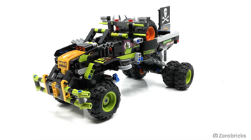 Combiné Monster Jam® Technic !