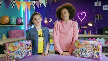 Copy of Friendship Box Build and Dance-Along LEGO Friends Videos