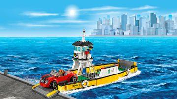 LEGO City Starke Fahrzeuge fahren auf die Fähre – Fähre 60119
