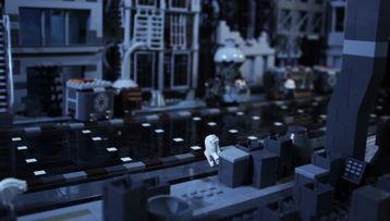 Stop motion 75212 Kessel Run Millennium Falcon