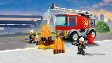 60280 - Fire Ladder Truck