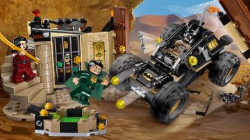 76056 Batman Rescue from Ras al Ghul