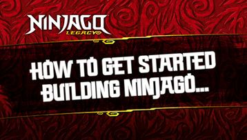 How to get started building Ninjago