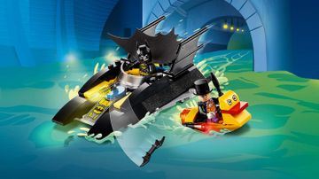 76158 - Batboat The Penguin Pursuit!