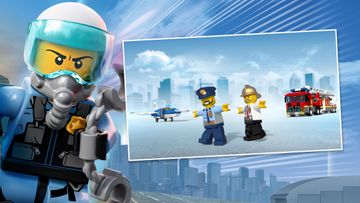 LEGO® City Sky Police and LEGO City Fire Epic Handshake: Helicopter High Five Tutorial!