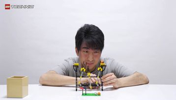 LEGO® Technic Great Ball Contraption Tutorial #1