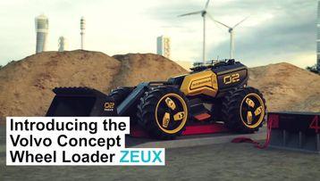 42081 볼보 컨셉 휠 로더 ZEUX 디자이너 비디오