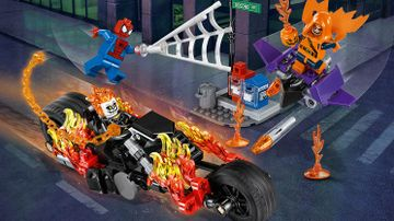 76058 SpiderMan Ghost Rider Teamup