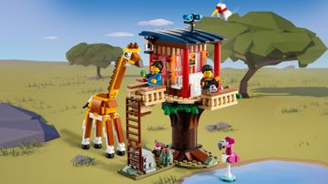 31116 Safari Wildlife Tree House