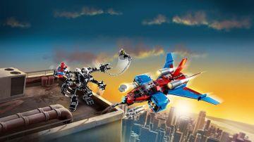 76150 - Spiderjet vs Venom Mech