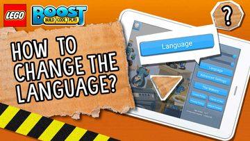 LEGO® BOOST How-To Video Troubleshooting: How to Change Language Settings