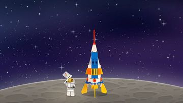 How to build your own LEGO moon