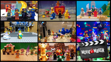 GRAN video musical de celebración de Emmet – Desafío LEGO® Movie Maker – LA GRAN AVENTURA LEGO 2